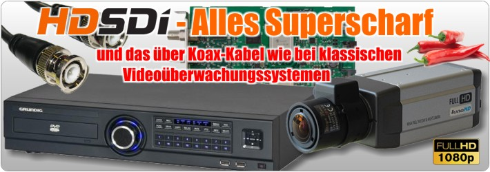 HD-SDI Alles superscharf