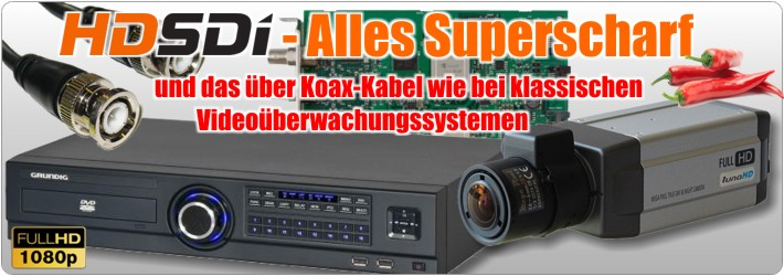 HD-SDI - Superscharfe Video�berwachung �ber Koaxialkabel