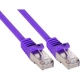 Patchkabel, SF/UTP, Cat.5e, violett, 3m (72503P)